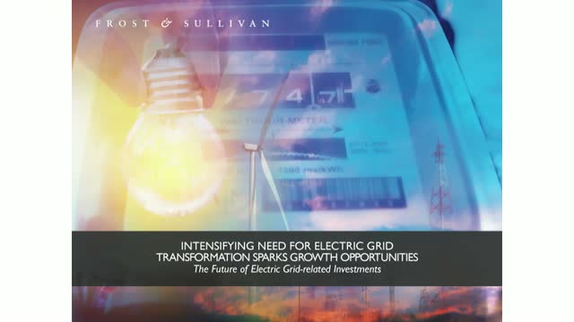 Intensifying Need for Electric Grid Transformation Sparks Growth Opportunities