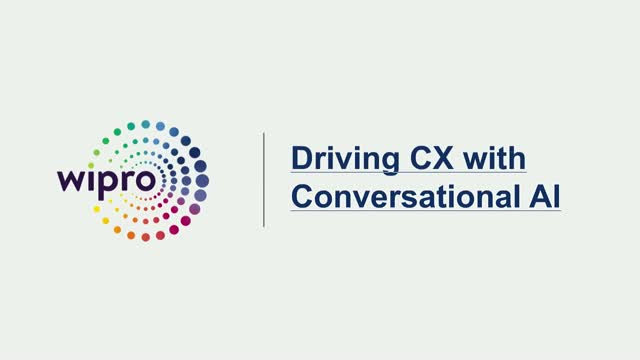 Driving CX with conversational AI