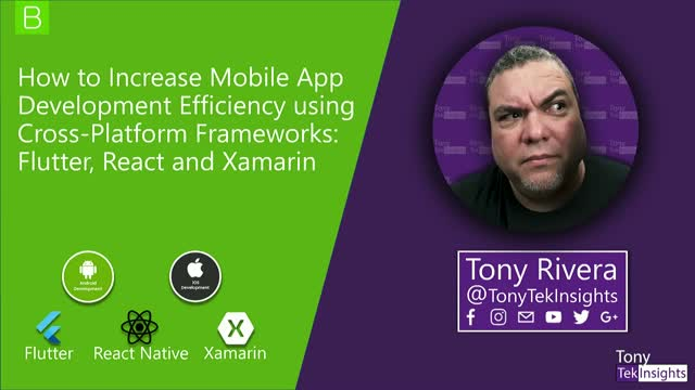 How to Increase Mobile App Development Efficiency With Cross-Platform Frameworks