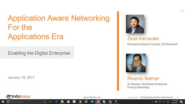 Discover Application Aware Networking for the Application Era