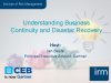 Understanding Business Continuity and Disaster Recovery