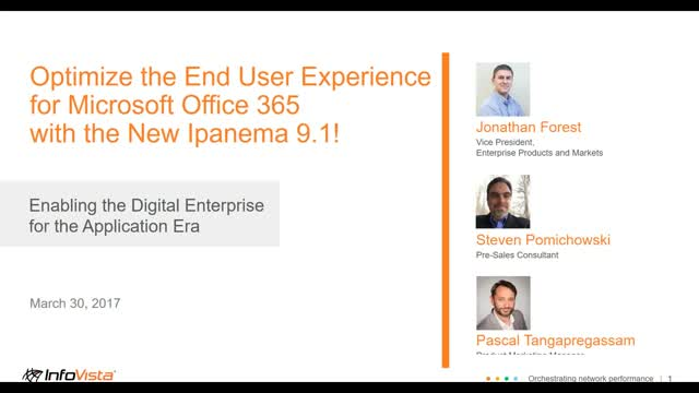 Optimize the End User Experience for Microsoft Office 365