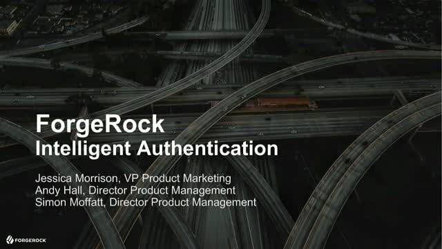 The Road to Intelligent Authentication Journeys