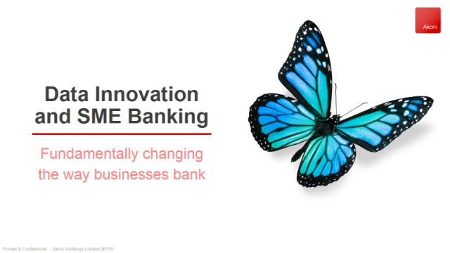 Data Innovation and SME Banking