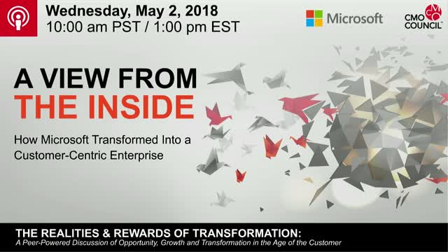 How Microsoft Made the Shift to Become a Customer-Centric Enterprise