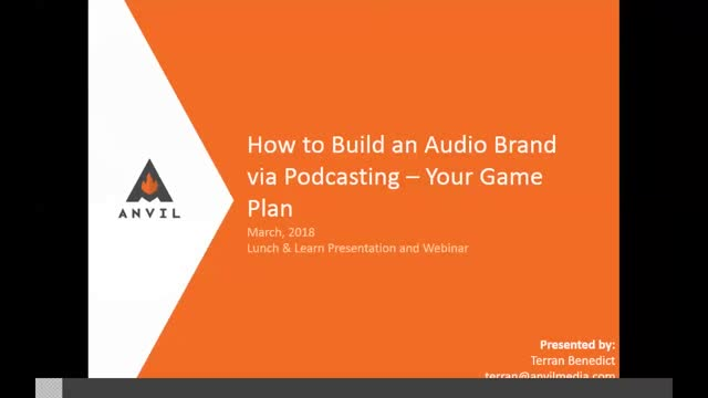 How to Build an Audio Brand via Podcasting – Your Game Plan