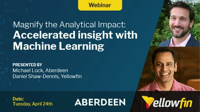 Magnify the Analytical Impact: Accelerate Insight with Machine Learning