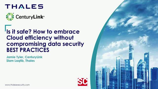 Is it safe? How to embrace Cloud efficiency without compromising data security