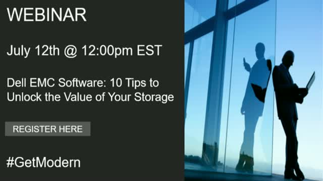 Dell EMC Software: 10 Tips to Unlock the Value of Your Storage