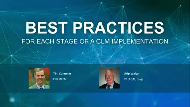 Best Practices for Each Stage of a Contract Lifecycle Management Implementation