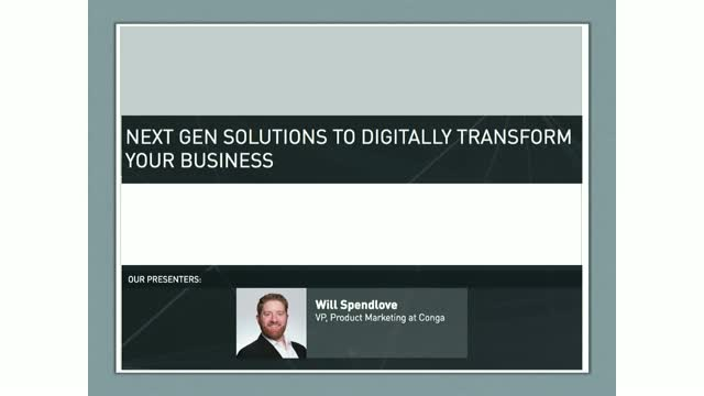 Next Gen Solutions to Digitally Transform Your Business