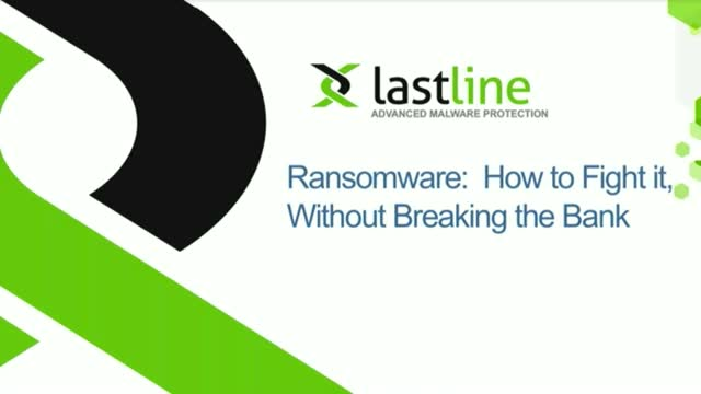 Ransomware: How to Strategically Fight It, Without Breaking the Bank