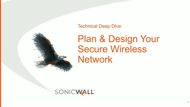 Technical Deep Dive: Plan & Design Your Wireless Network