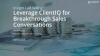 Insight Led Selling:  Leverage ClientIQ for breakthrough sales conversations