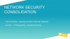Network Security Consolidation In the Federal Government