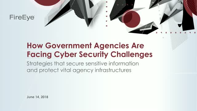 How Government Agencies are Facing Cyber Security Challenges