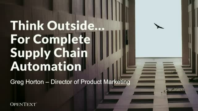 Optimize Your Supply Chain to Improve Business Performance