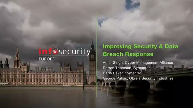 Improving Security & Data Breach Response