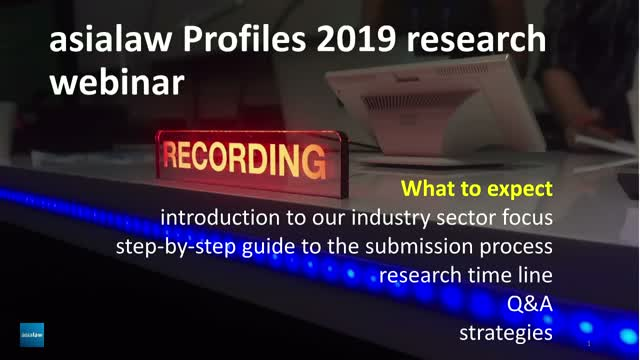 asialaw Profiles Research 2019