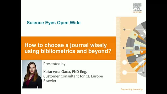 How to choose a journal wisely using bibliometrics and beyond?