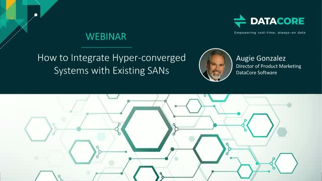 How to Integrate Hyperconverged Systems with Existing SANs