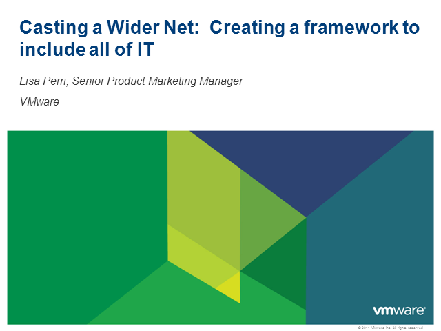 Casting a Wider Net: Creating a Framework to Include All of IT