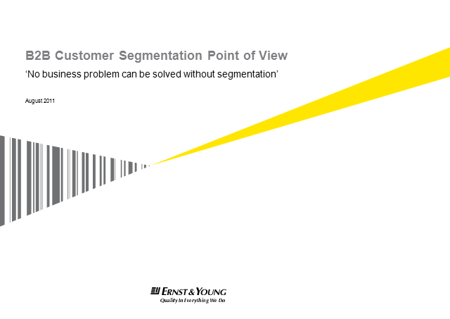 Segmentation for success: how to drive ROI from customer insight