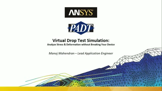 Drop Test Simulation: Analyze Stress & Deformation without Breaking Your Device