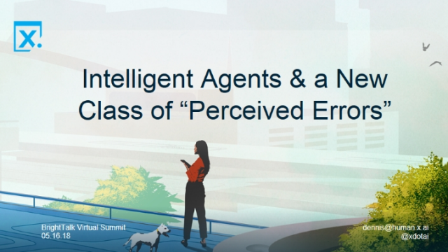 Intelligent Agents and a New Class of Perceived Errors