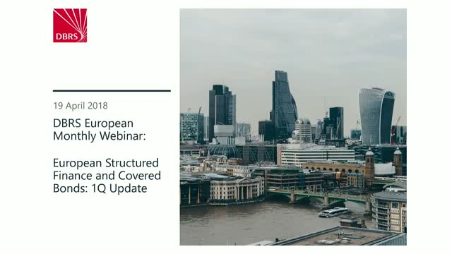 DBRS Hosts Webinar on European SF & CB 1Q Update