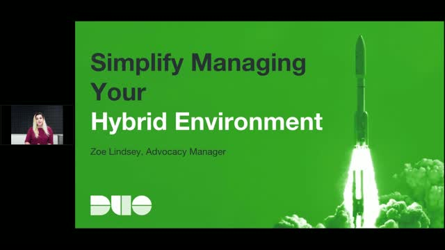 Simplify Managing Your Hybrid IT Security Environment