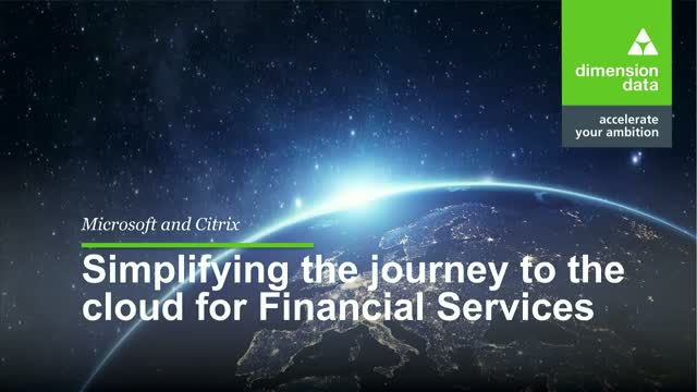 Citrix on Azure for Financial Services: Compete to Win