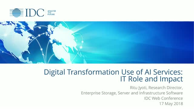 Digital Transformation Use of AI Services: IT Role and Impact
