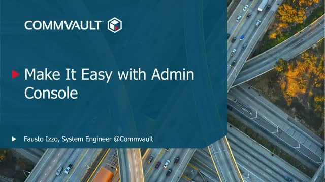 Make it easy with Admin Console