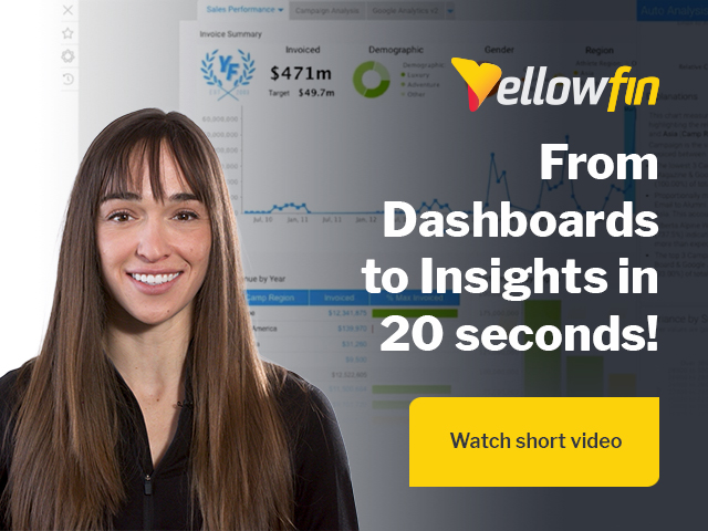 From Dashboards to Insights in 20 Seconds!