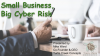 Small Business, Big Cyber Risk