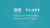 Viavi+Ixia: 6 Steps to Maintaining Control in the Cloud