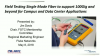 Field Testing Single Mode Fiber to support 100Gig and beyond for Campus and Data