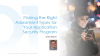 Picking the Right Assessment Types for your Application Security Program