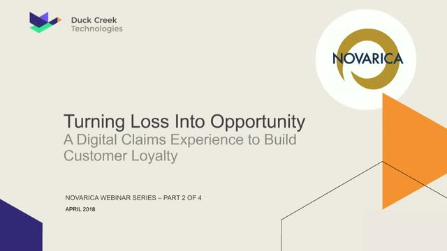 Turning Loss Into Opportunity: The Digital Claims Experience that Builds Custome