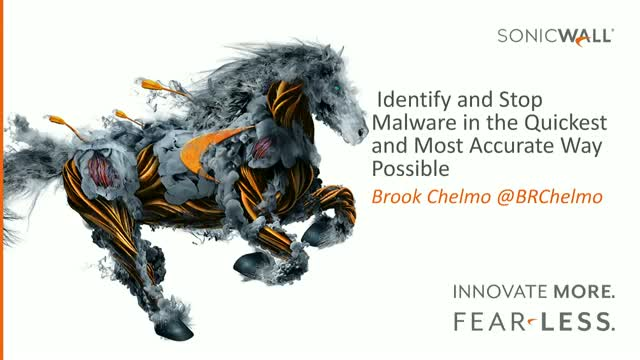 Identify and Stop Malware in the Quickest and Most Accurate Way Possible