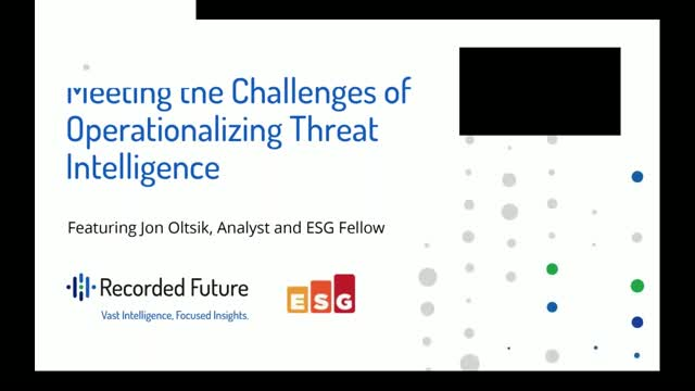 Meeting the Challenges of Operationalizing Threat Intelligence