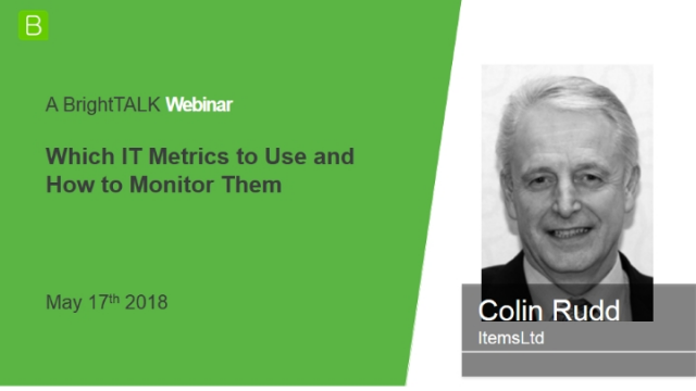 What IT Metrics to Use and How to Monitor Them