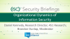 Organizational Dynamics of Information Security