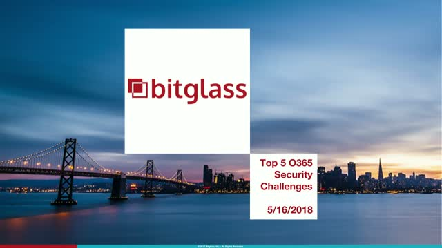 Webinar Express: Top 5 Office 365 Security Challenges