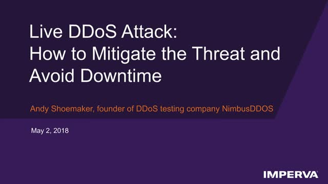 Live DDoS Attack: How to Mitigate the Threat and Avoid Downtime