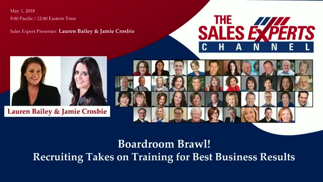Boardroom Brawl! Recruiting Takes on Training for Best Business Results
