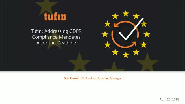 GDPR: Network Security Life Post May 25th, 2018
