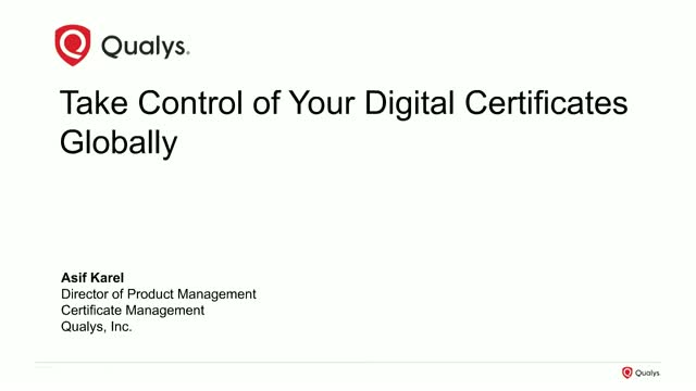 Take Control of Your Digital Certificates Globally