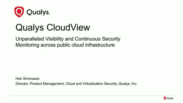 Gain Visibility and Continuous Security Across All Your Public Clouds